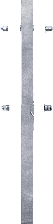 Montagepfosten für Schwedenfressgitter 60x60x4 mm, L=1,29 m