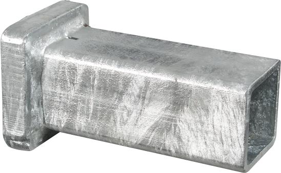 Einschlagkappe, zum Einschlagen von Hartholz-Pfählen 40 x 40 mm
