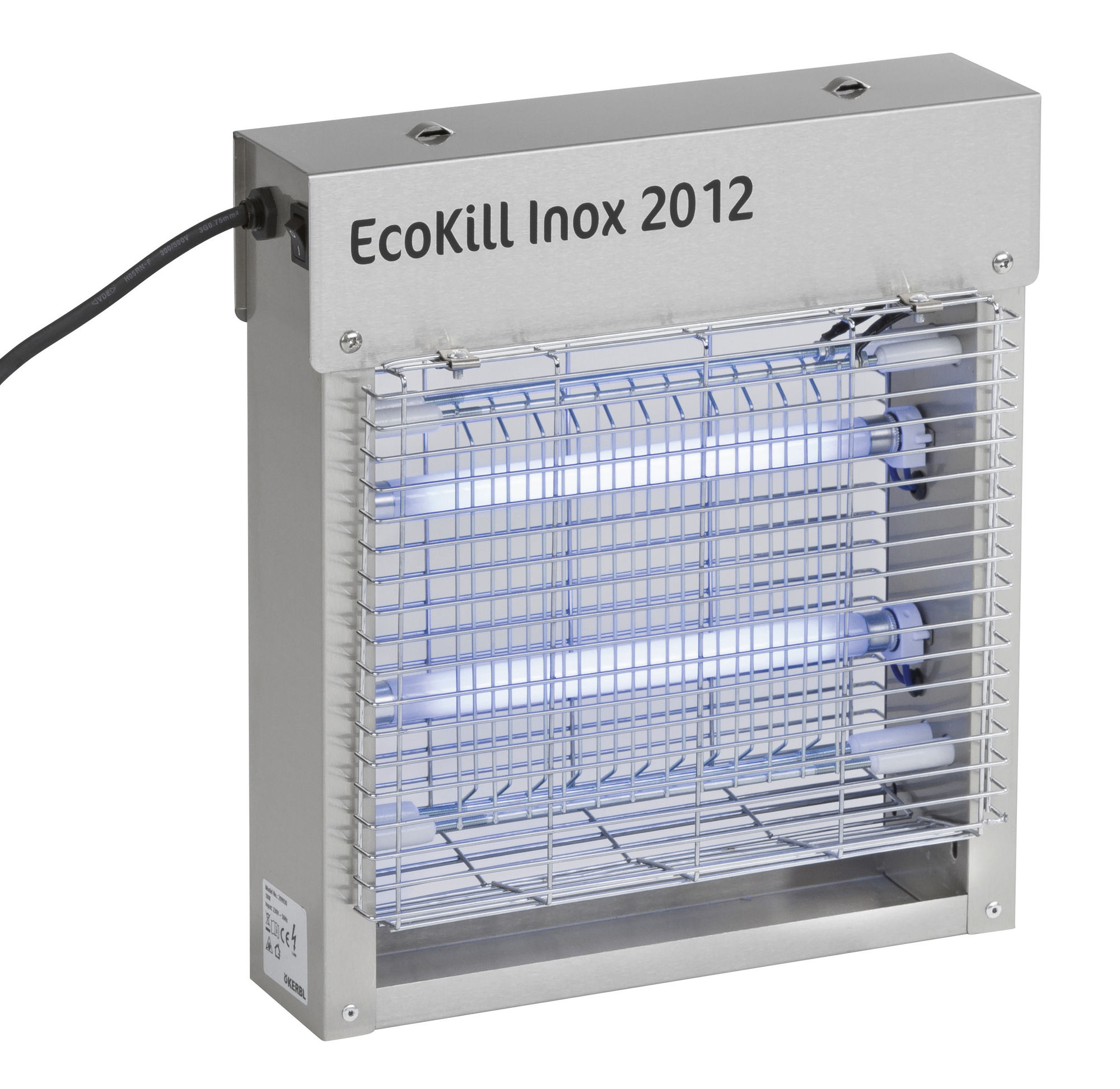 Elektr. Fliegenvernichter EcoKill Inox 2012