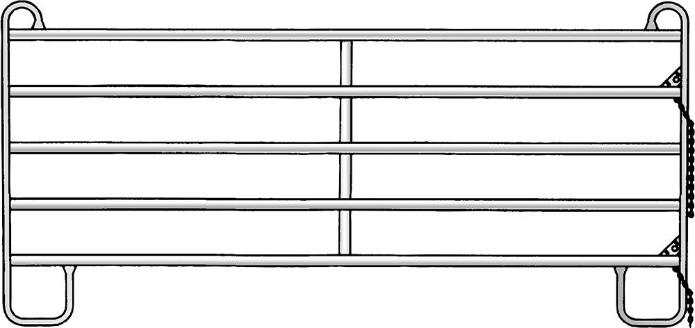 Panel-5 Höhe 1,45 m