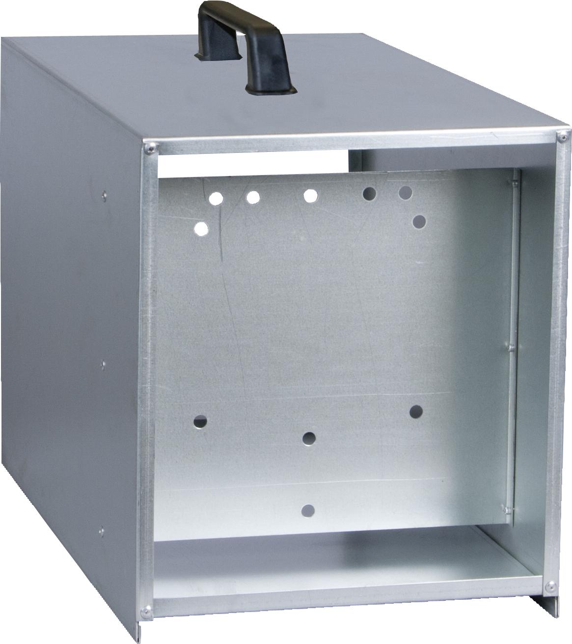 Tragebox verzinkt für PATURA-Geräte