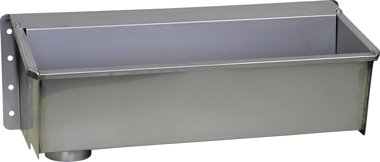 """Kompakt-Trogtränke Mod. 6150 Edelstahl, Länge 1,0 m, Anschluss 3/4"""""""