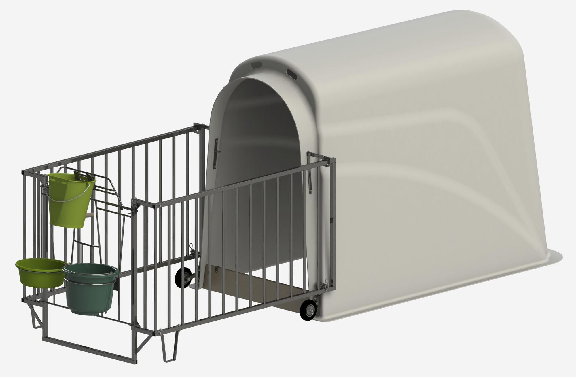 Calfhouse PE UV+ incl. heavy fence, Version 30