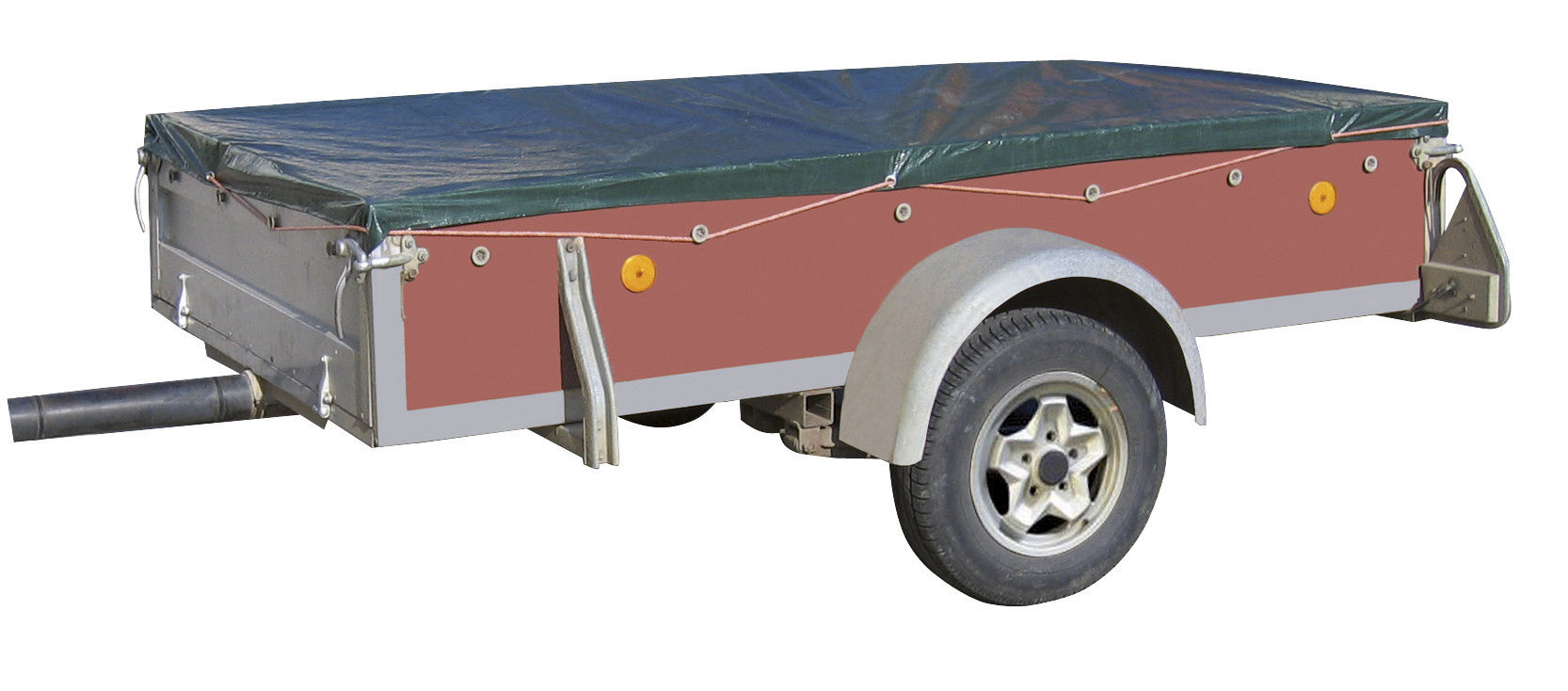 Abdeckplane PolyGuard 110-120gr/m²  -  8 x 10m