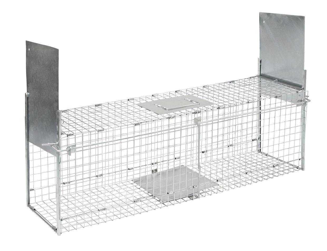 Kastenfalle klappbar mit 2 Eingängen 100x26x32 cm