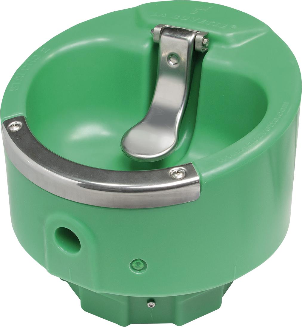 Zungenventil-Becken Stalcho 2 beheizbar, 24 Volt / 50 Watt