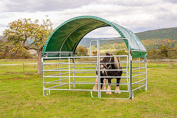 Panel-Dach Compact 6 m x 3,6 m