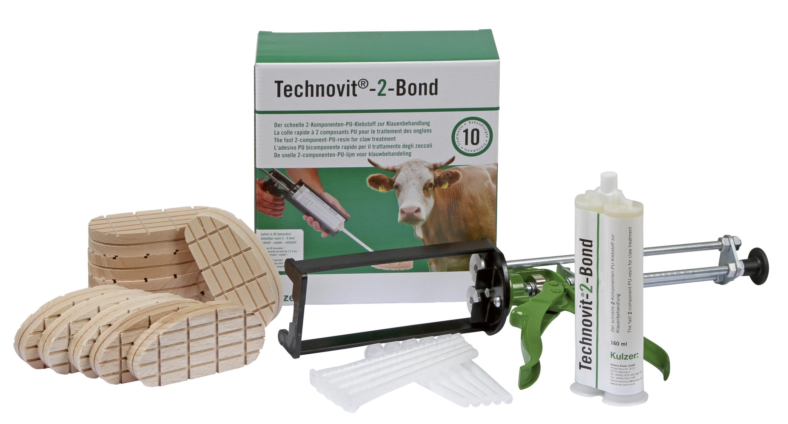 Technovit-2-Bond Starterset, mit Dosierpistole