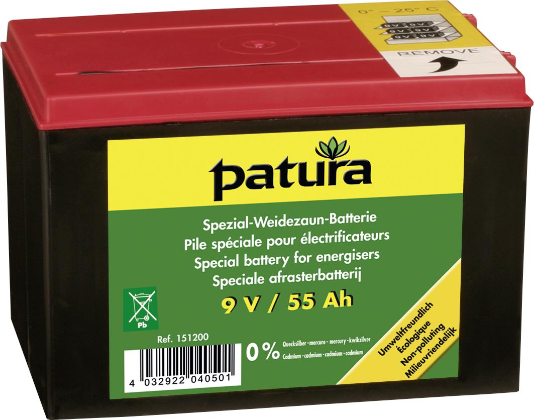 Spezial Weidezaun-Batterie 9 V