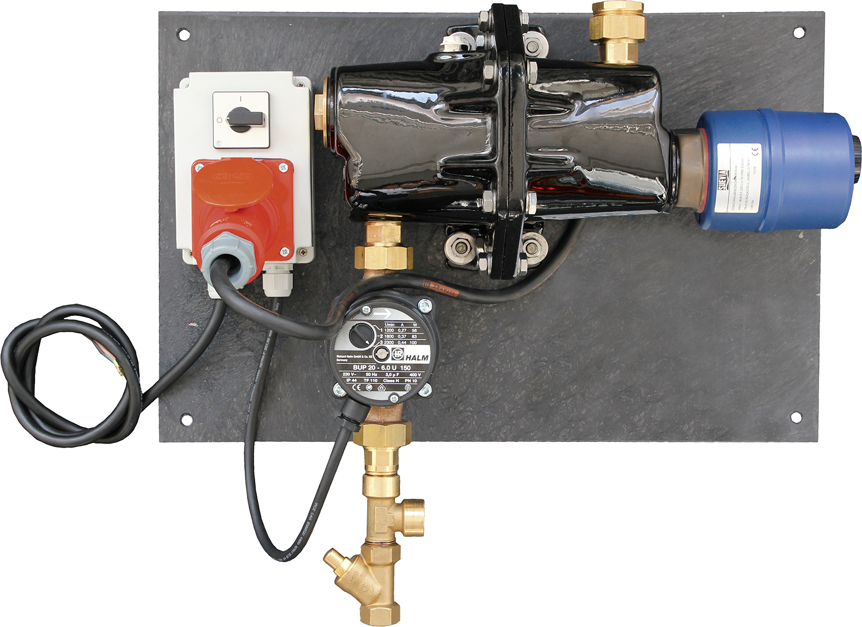 Umlaufheizsystem Mod. 300, 400 V 3000 W, Pumpe 100 W