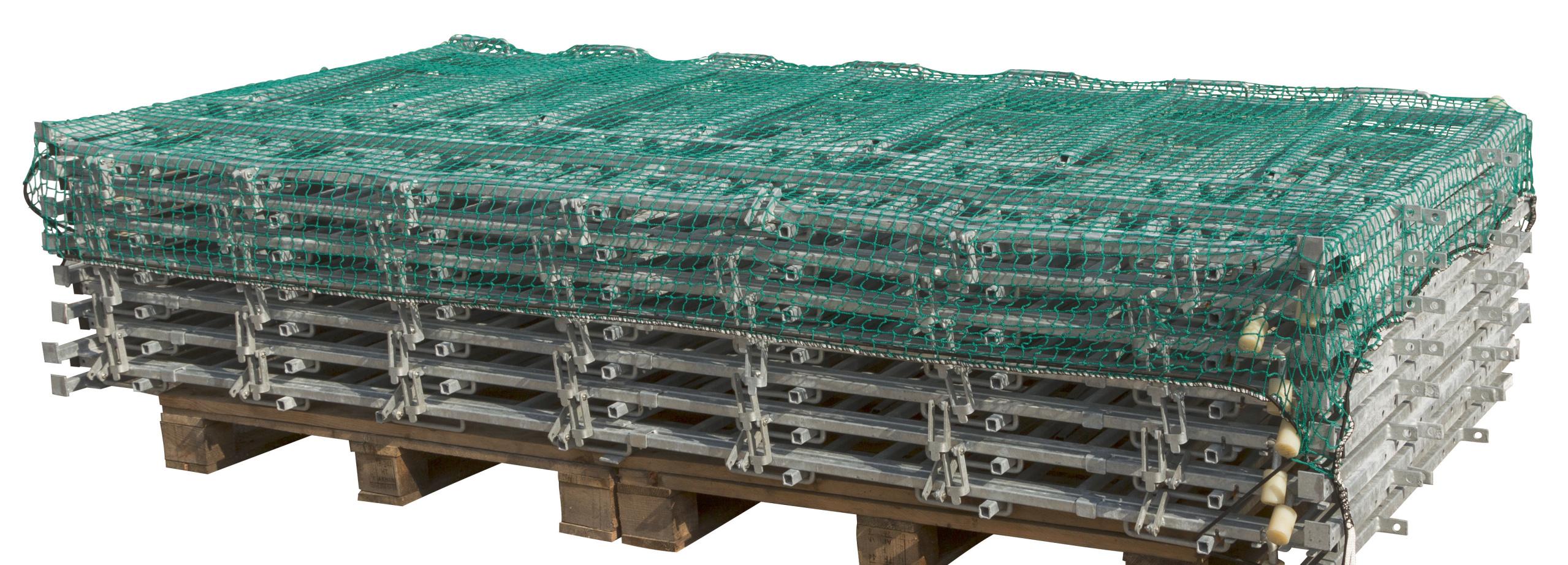 Abdecknetz 3,5 x 5m 45mm Maschenw./3mm Materialst.
