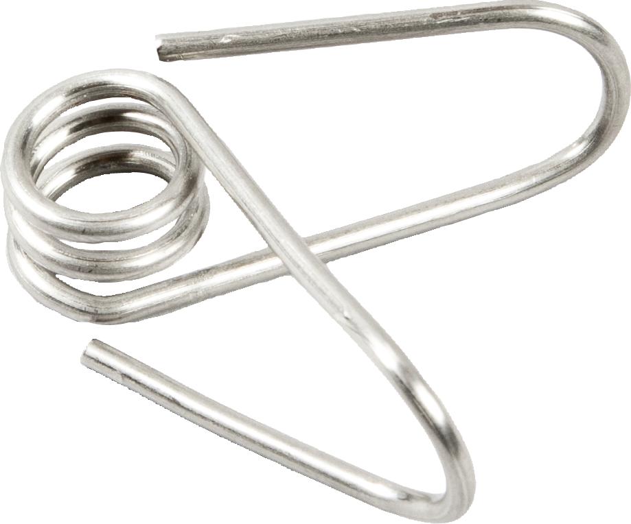 Edelstahl-Clip für Glasfiberpfahl (25 Stück / Pack)